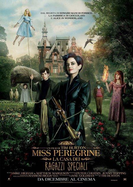 MISS PEREGRINE - LA CASA DEI RAGAZZI SPECIALI (MISS PEREGRINE'S HOME FOR PECULIAR CHILDREN)