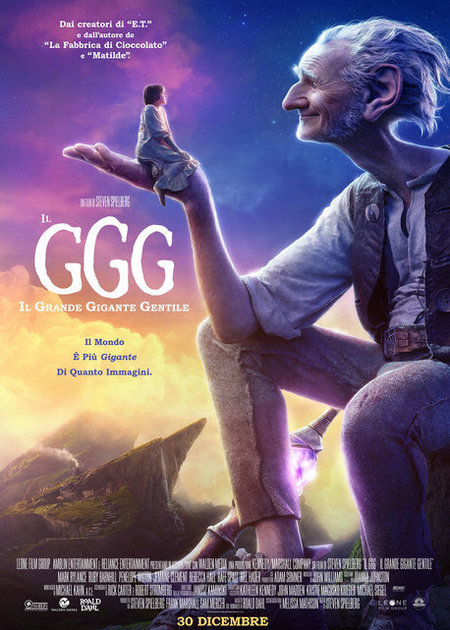 IL GGG - IL GRANDE GIGANTE GENTILE (THE BFG)