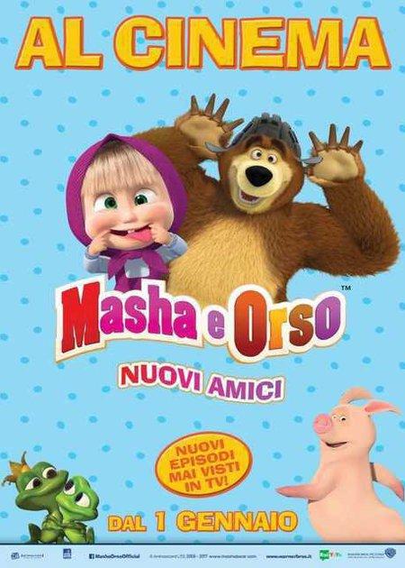 MASHA E ORSO - NUOVI AMICI (MASHA I MEDVED)