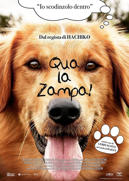 QUA LA ZAMPA! (A DOG'S PURPOSE)