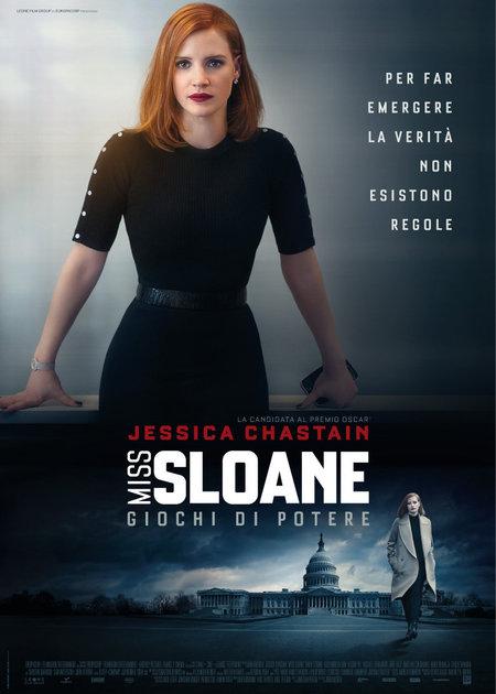 MISS SLOANE - GIOCHI DI POTERE (MISS SLOANE)