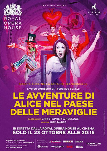 royal opera house 2017-2018: ALICE