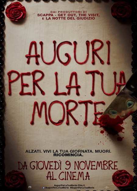 AUGURI PER LA TUA MORTE (HAPPY DEATH DAY)