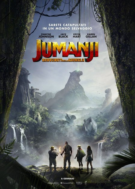 JUMANJI: BENVENUTI NELLA GIUNGLA (JUMANJI: WELCOME TO THE JUNGLE)