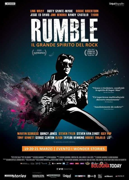 RUMBLE - IL GRANDE SPIRITO DEL ROCK (RUMBLE - THE INDIANS WHO ROCKED THE WORLD)