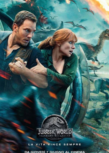 JURASSIC WORLD - IL REGNO DISTRUTTO (JURASSIC WORLD: FALLEN KINGDOM)