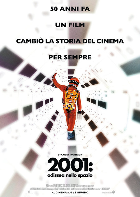 2001: ODISSEA NELLO SPAZIO (RIED. 2018) (2001: A SPACE ODISSEY)