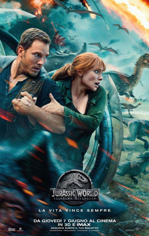 Jurassic world - il regno distrutto (jurassic world: fallen kingdom)