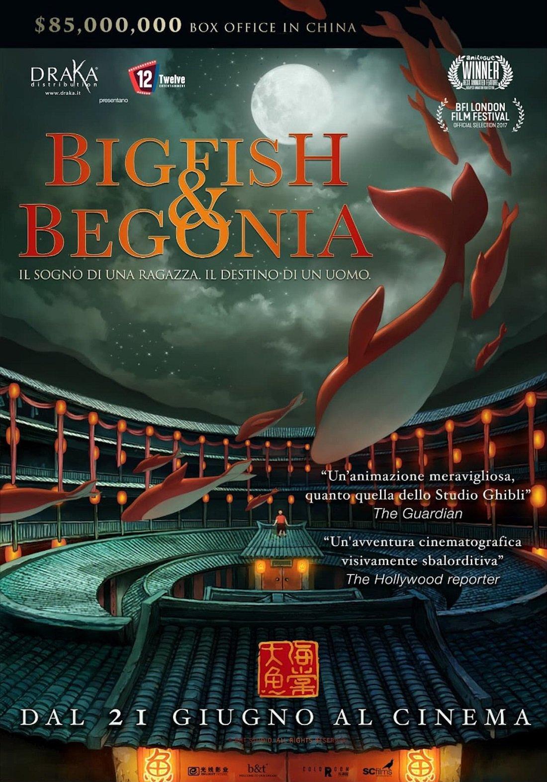 Big fish & begonia (da hai)