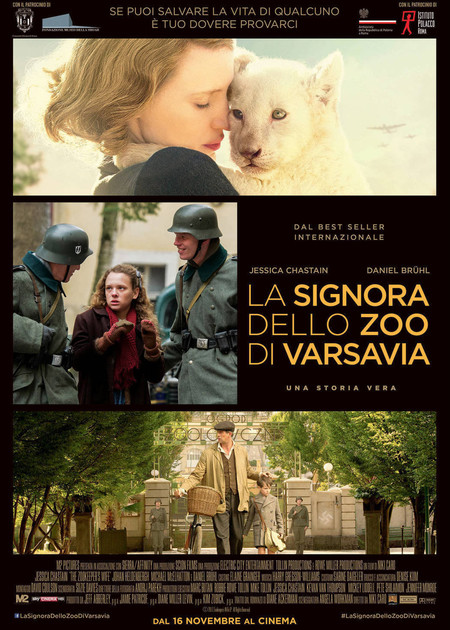 LA SIGNORA DELLO ZOO DI VARSAVIA (THE ZOOKEEPER'S WIFE)