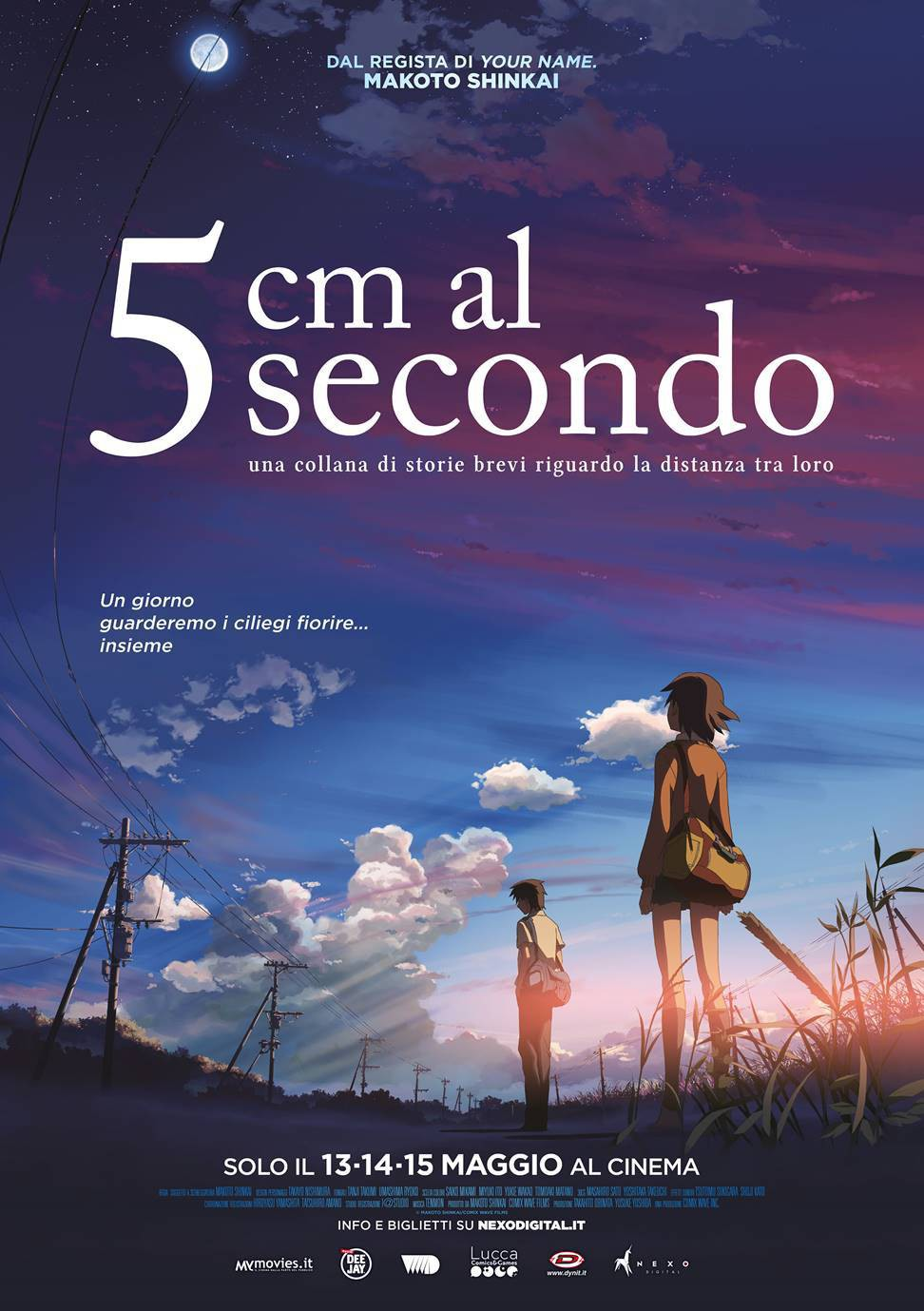 5 cm al secondo (byosoku 5 senchimetoru)