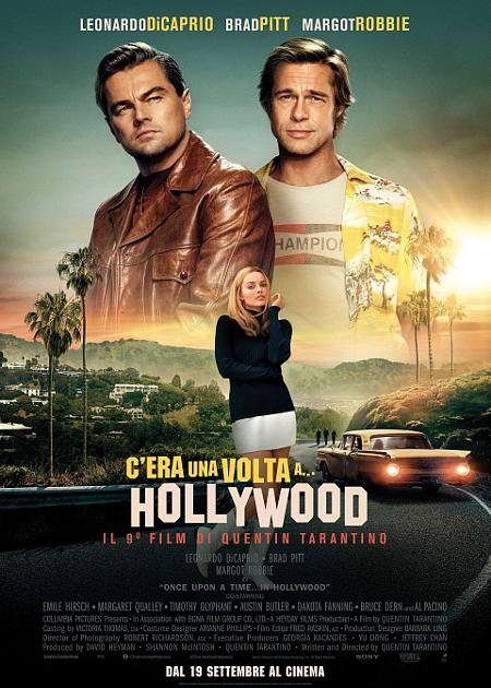 C'ERA UNA VOLTA A...HOLLYWOOD(ONCE UPON A TIME IN...HOLLYWOOD)
