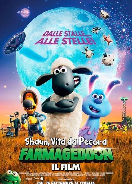 SHAUN, VITA DA PECORA - FARMAGEDDON (A SHAUN THE SHEEP MOVIE: FARMAGEDDON)