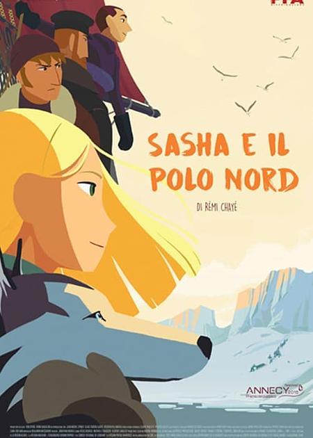 SASHA E IL POLO NORD (TOUT EN HAUT DU MONDE)